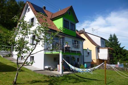 Zimmer m. Garten und Neckartalblick - Oberndorf am Neckar - Rumah