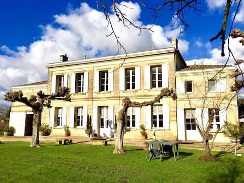 Château Roseyrol proche Saint-Emilion