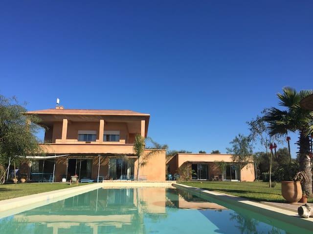 Calme et sérénité à Côté de Casablanca -2 chambres - MA - Casa