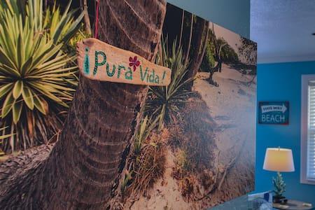 Costa Rica Themed Beach Home