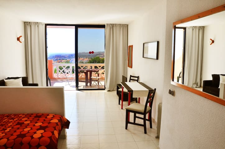 Studio with fantastic view - Costa Adeje - Lägenhet