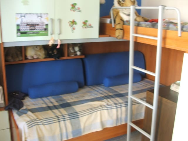 2 posti letto,bagno indipendente - Mappano - Flat