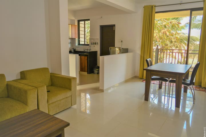 1BR Apt+5 Min Walk to Patnem Beach+2Kms to Palolem
