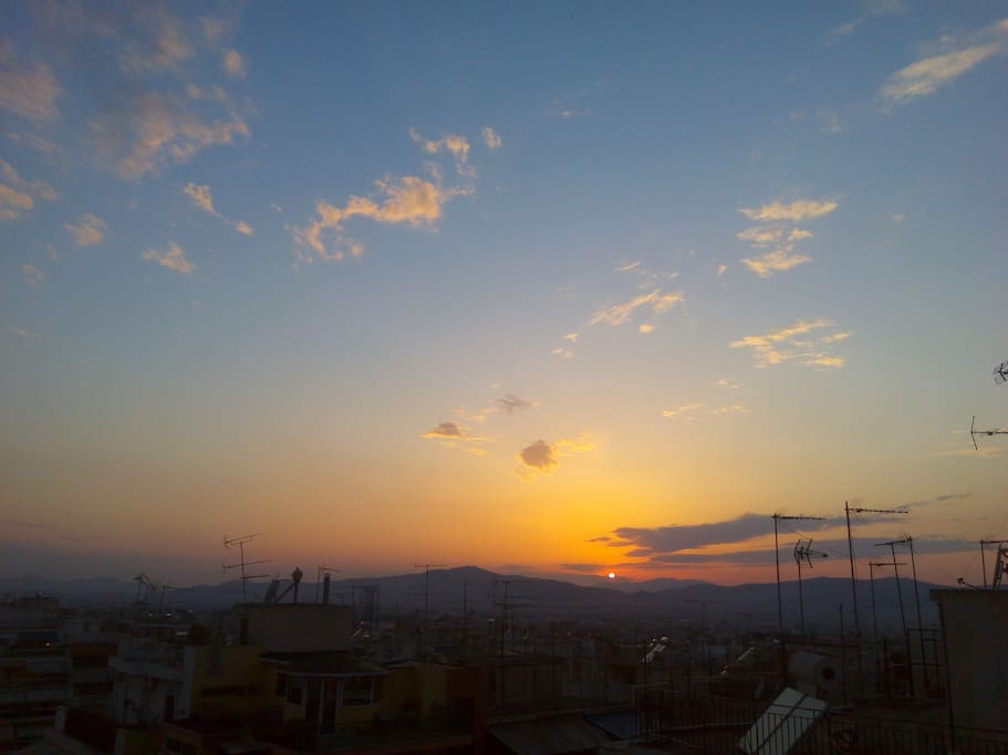 Sundown - View from the house