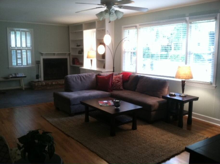 Living room--open and roomy