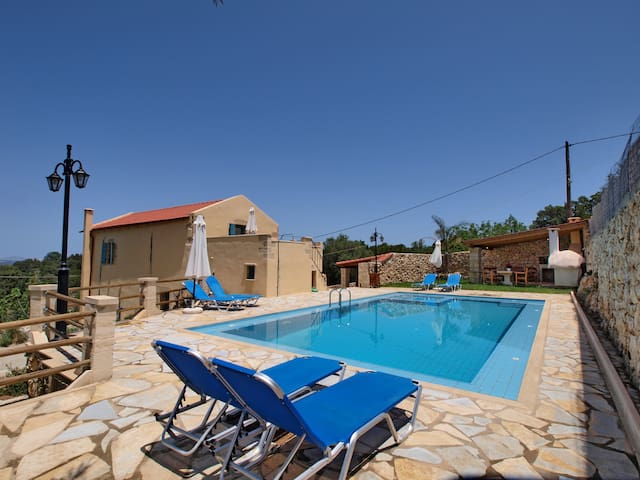 Olive Mill Villa, traditional villa with pool