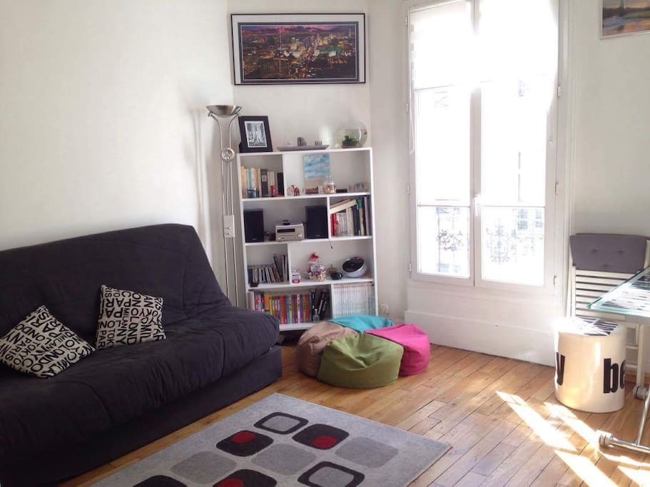 Un petit coin de paix ensoleillé en plein paris - A beautiful place in Paris