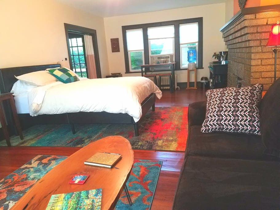 Biltmore downtown 2 mi private master suite houses - 2 bedroom suites in asheville nc ...