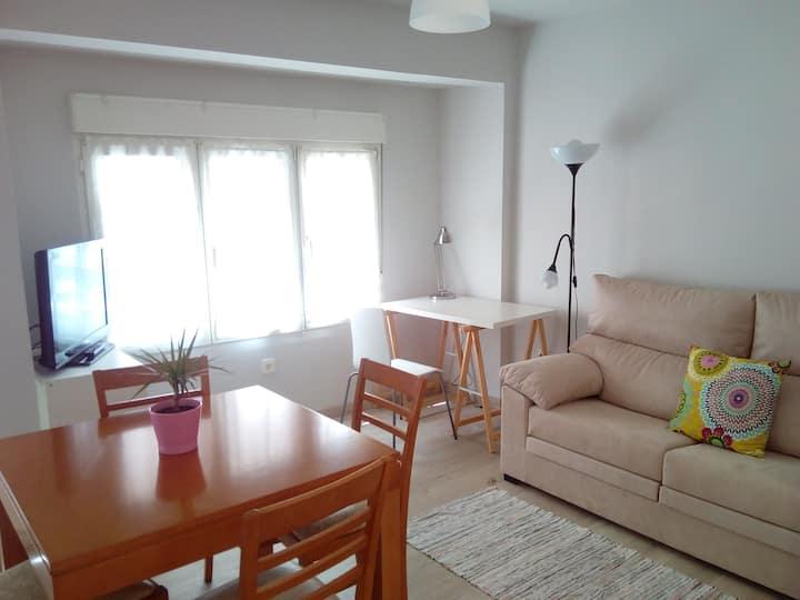 Apartamento en la playa de 2 habitaciones,con WIFI