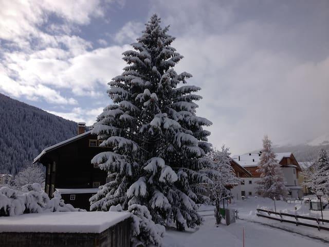 4.5-Zimmer-Wohnung in Davos Dorf - Davos - Apartment