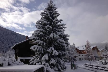 4.5-Zimmer-Wohnung in Davos Dorf - 达沃斯 - 公寓