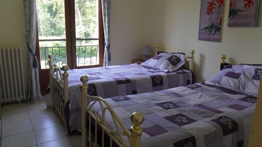 CHAMBRE   TILLEUL  (TWIN BEDDED ROOM) - Saint-Jean-de-Thurac - Bed & Breakfast