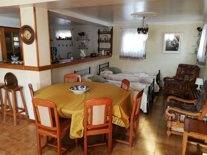 Suite with kitchen - Ancora Praia 1km away