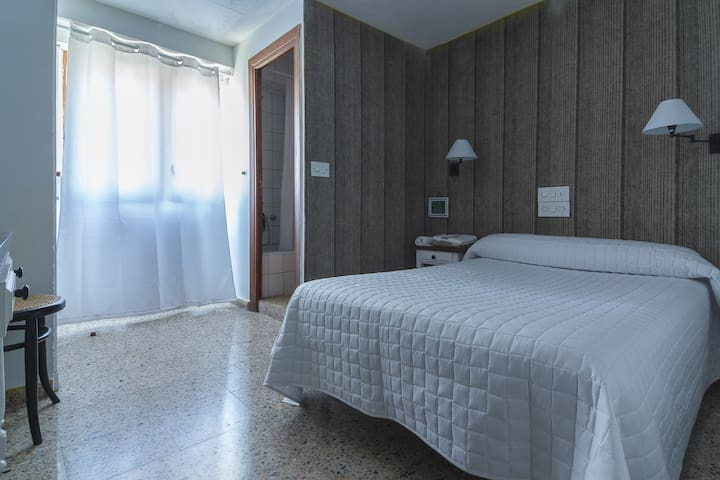 Habitación sencilla en Jaca perla del Pirineo.