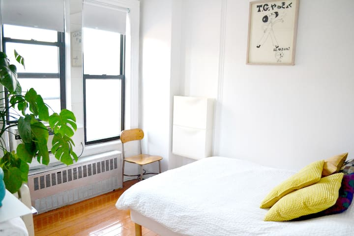 Pretty room in the heart of the Lower East Side