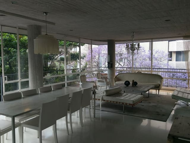 Amazing Modern LOFT in the Nicest neighborhood - Mexiko-Stadt - Wohnung