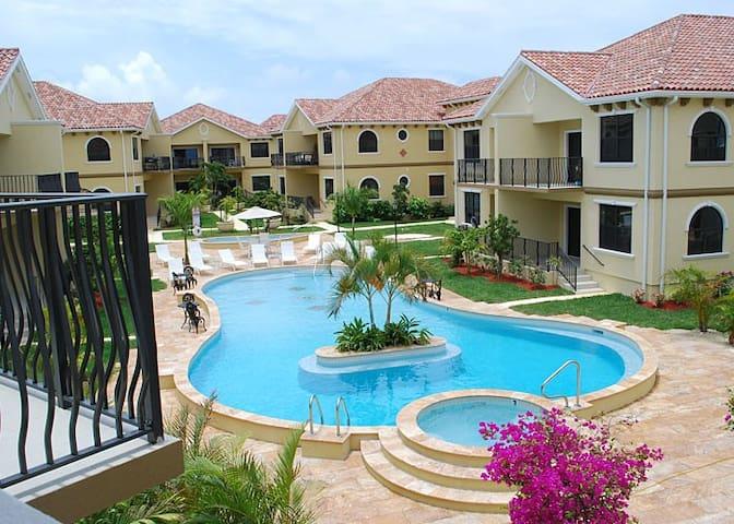 Top floor Condo in Cayman Islands.
