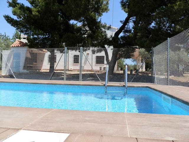 CASA TROSSET,Ideal house for your holidays near the sea, free wifi, air conditioning, private pool, pets allowed, dog's beach.
