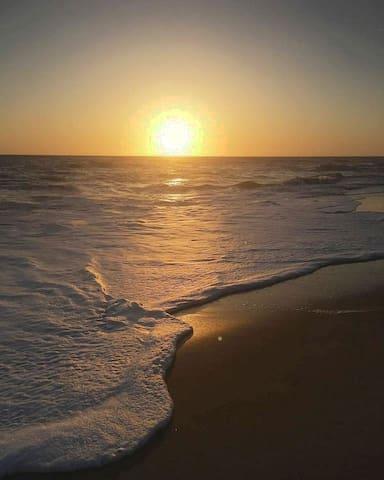 20 pas et vous êtes sur la plage