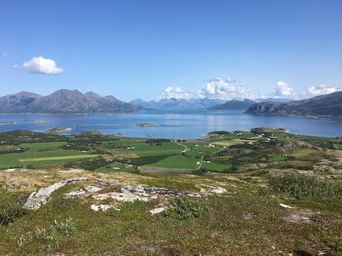 Løkta på Helgelandskysten.