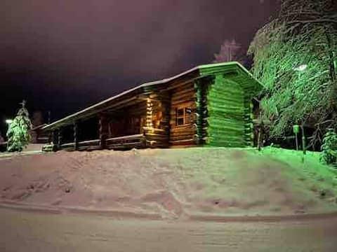 2 BR + loft / Log cottage nearby Ruka centre