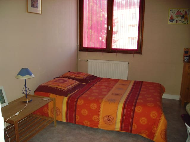 Chambre privée dans grand appartement de 100m2 - La Roche-sur-Yon - Huoneisto