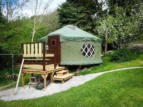 Bigfoot Yurts,  luxury camping