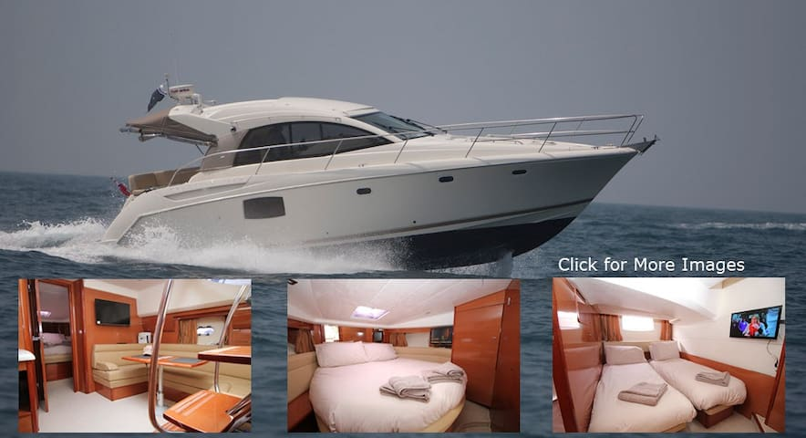 Zen Dog- 4 berth, 2 cabin Motor Yacht in Lymington