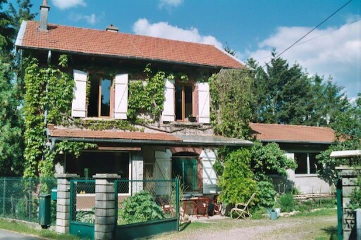 """""""La gare"""" maison individuelle - Ogéviller - Hus"""
