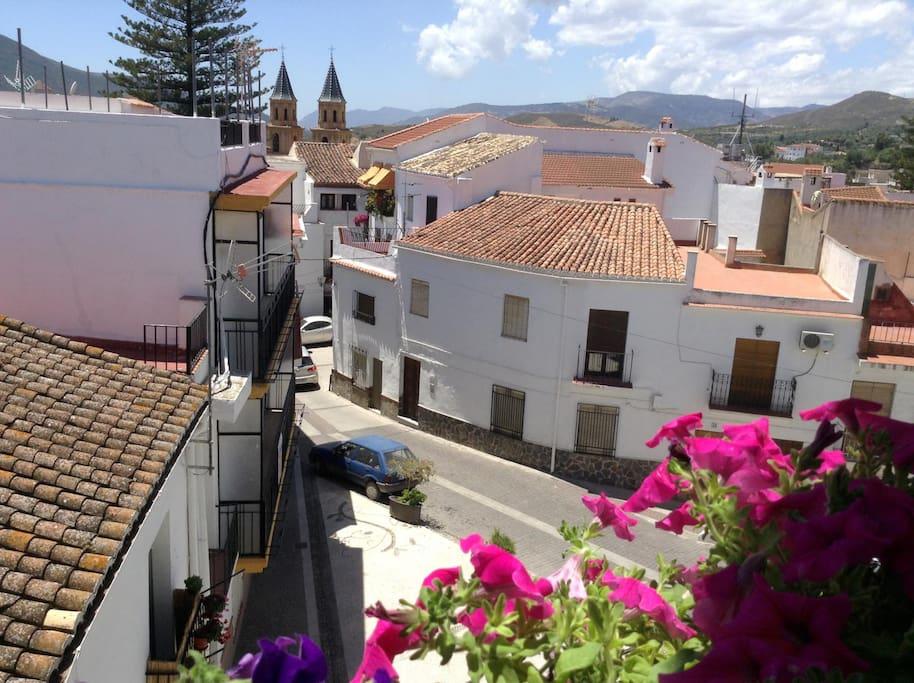 View from the terrace - Vista desde la terraza