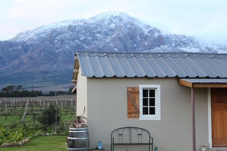 Malbec -cosy country cottage surrounded by vines