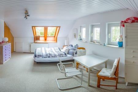 Bright & cosy ensuite room - ハンブルク - タウンハウス
