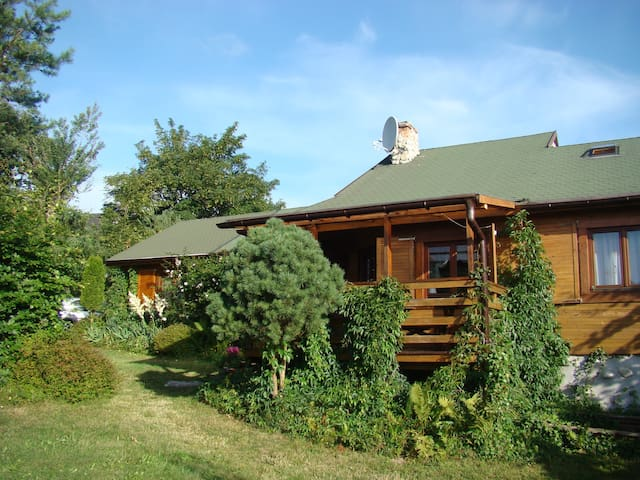Cottage above Baltic Sea