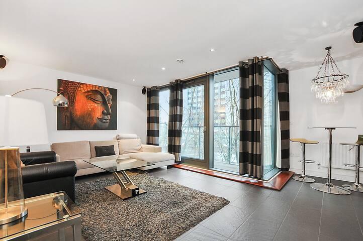 Luxury apartment Near O2 - London - Apartemen