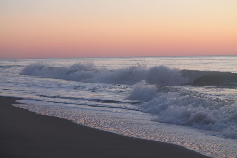 The ocean is amazingly beautiful.