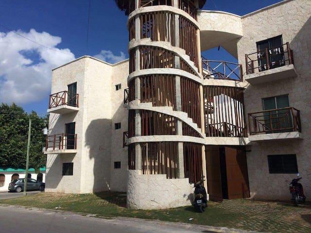 Share apartament close to the beach - Playa del Carmen - Leilighet