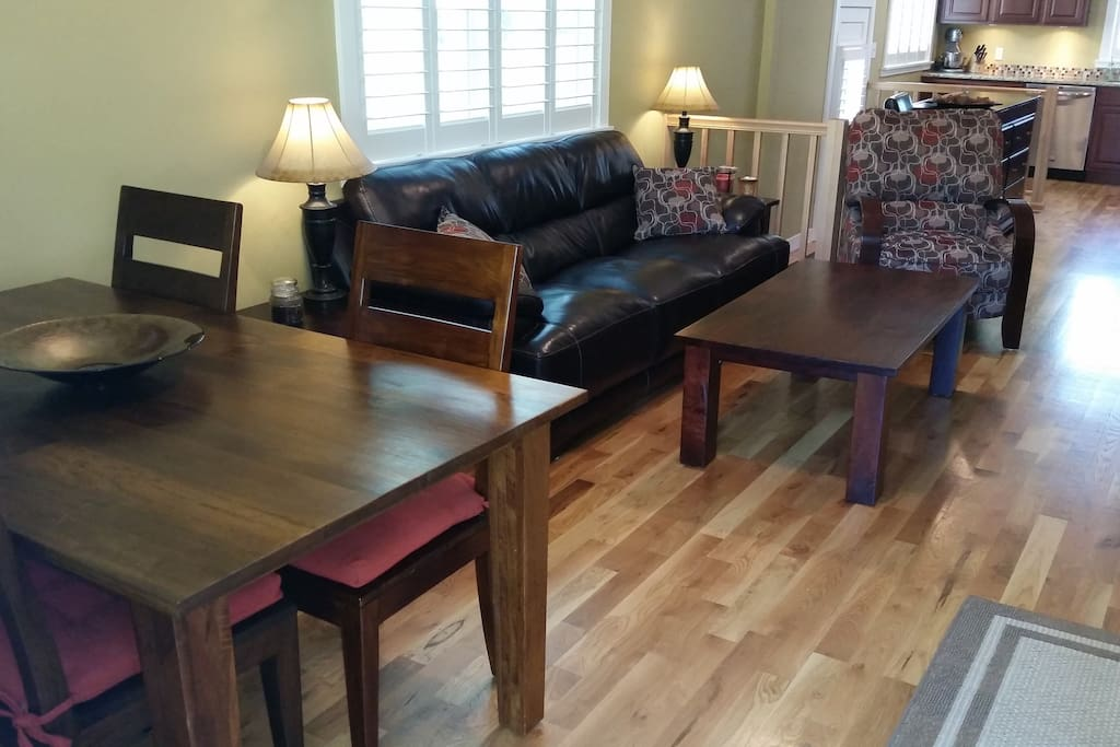 Ample Living & Dining Space
