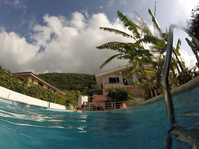 Relaxing house with pool in Tropea - Parghelia - Huis