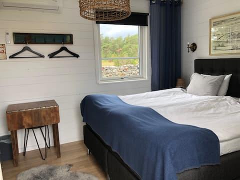 Yksityinen huone (nro 2) ihanassa Fårössä