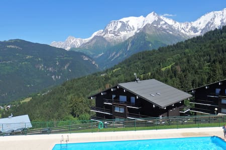 Lovely appartment face to white month - Saint-Gervais-les-Bains - 公寓