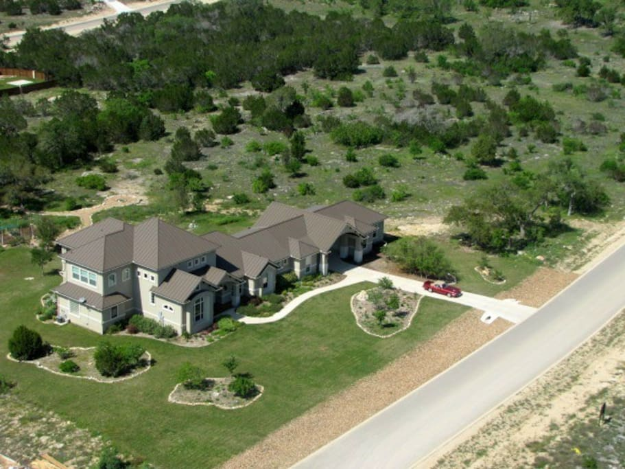 Located high on a hill in the Texas Hill Country