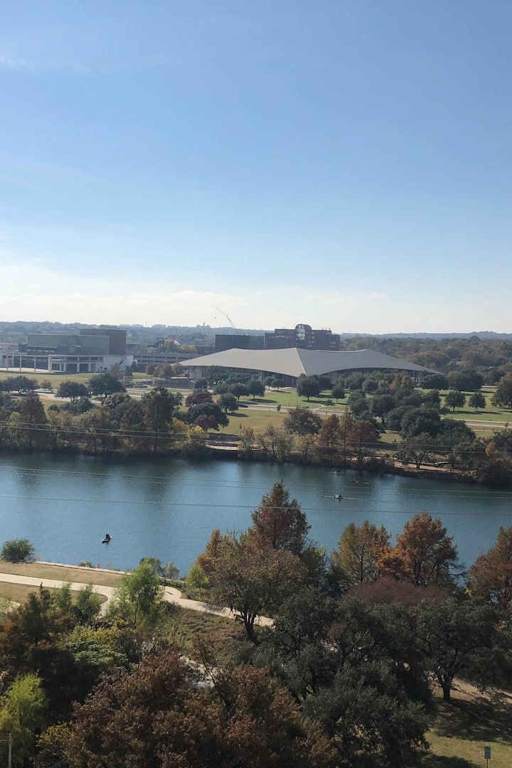 View of Lady Bird Lake