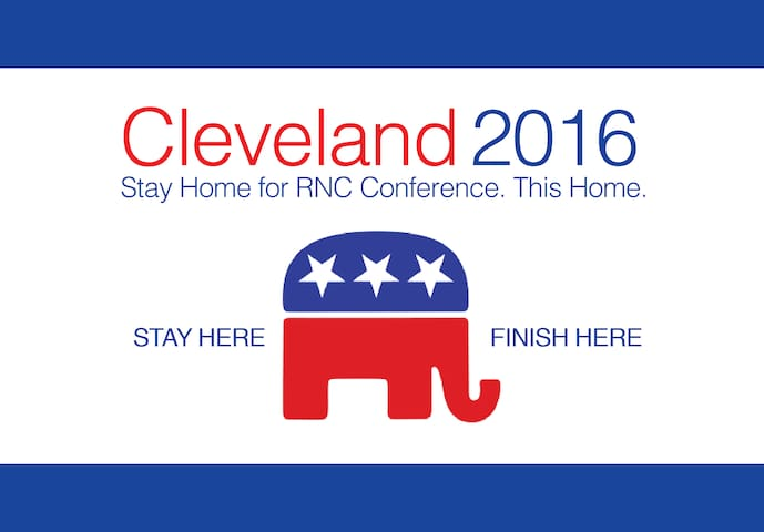 CLE Suburb Home for RNC Convention