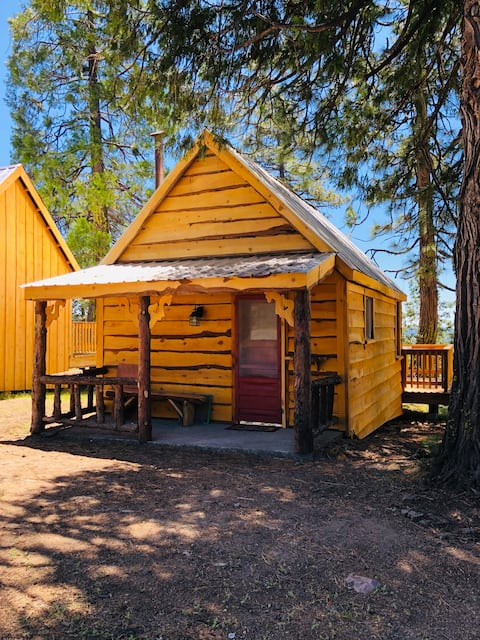 "The ""Bear Den"" Cabin in the Sierra Nevada Mnts"