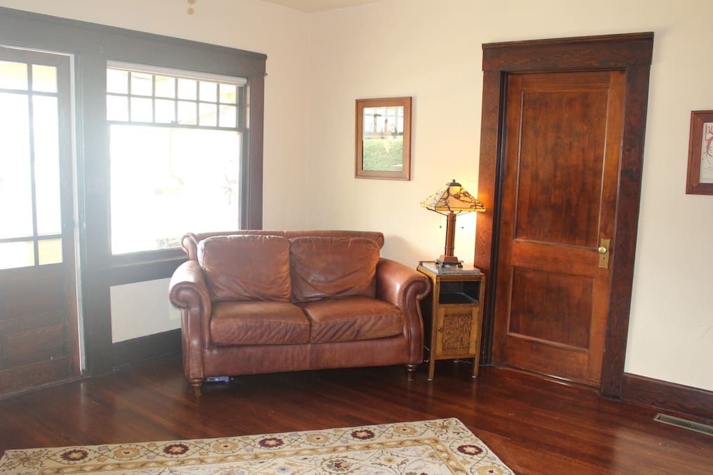 Wood moldings and hardwood floors