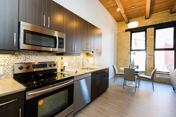 Urban Loft 1BR - Exchange District - Winnipeg - Apartament