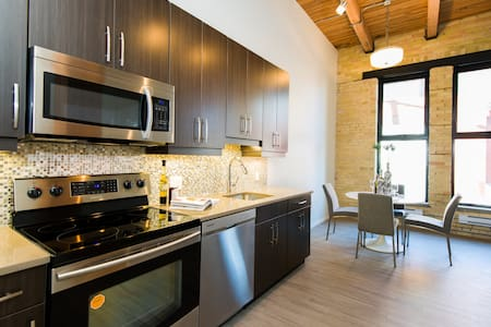 Urban Loft 1BR - Exchange District - Winnipeg