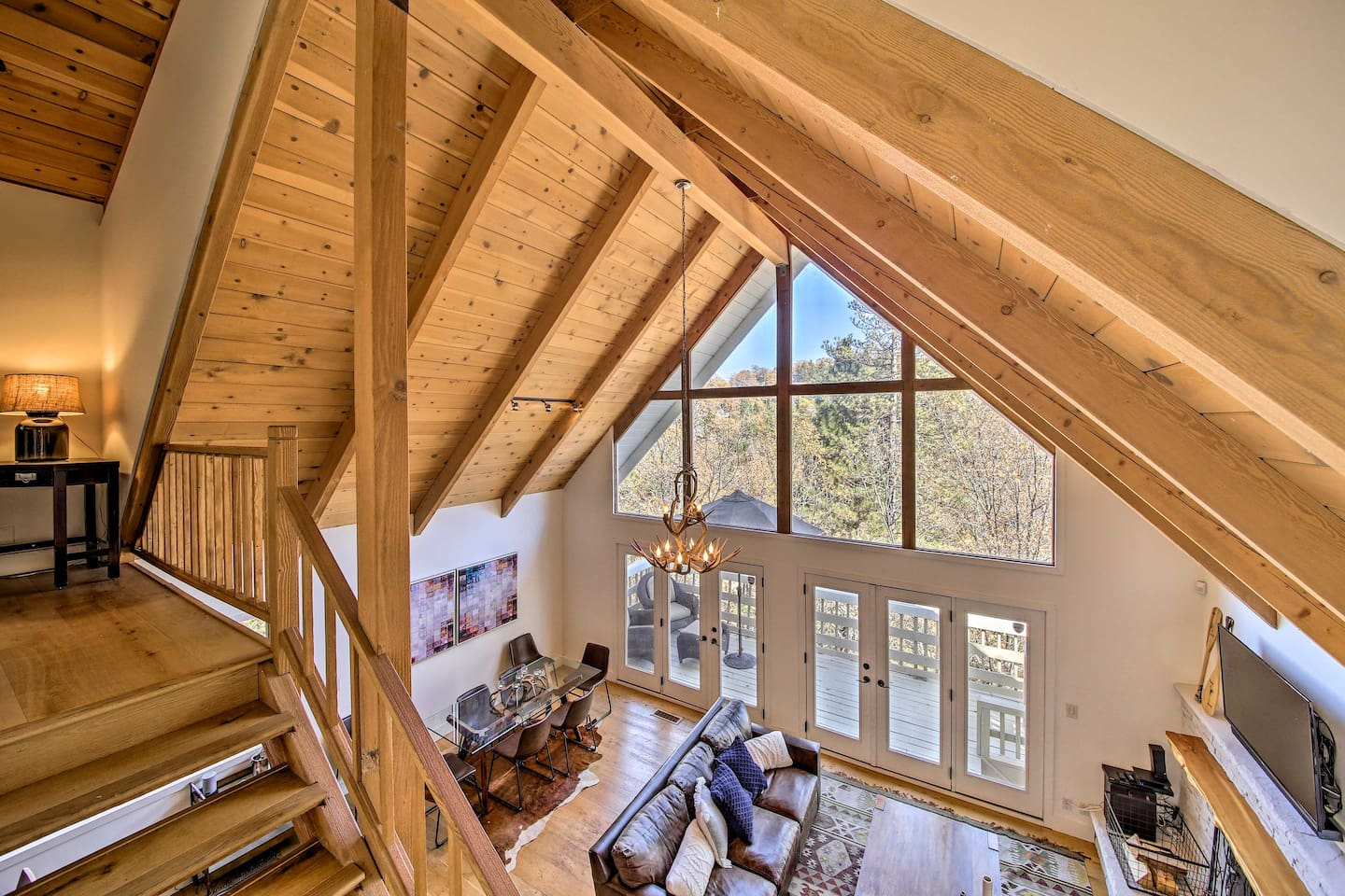 Come visit this stunning 4-bedroom, 3-bathroom home in Lake Arrowhead.