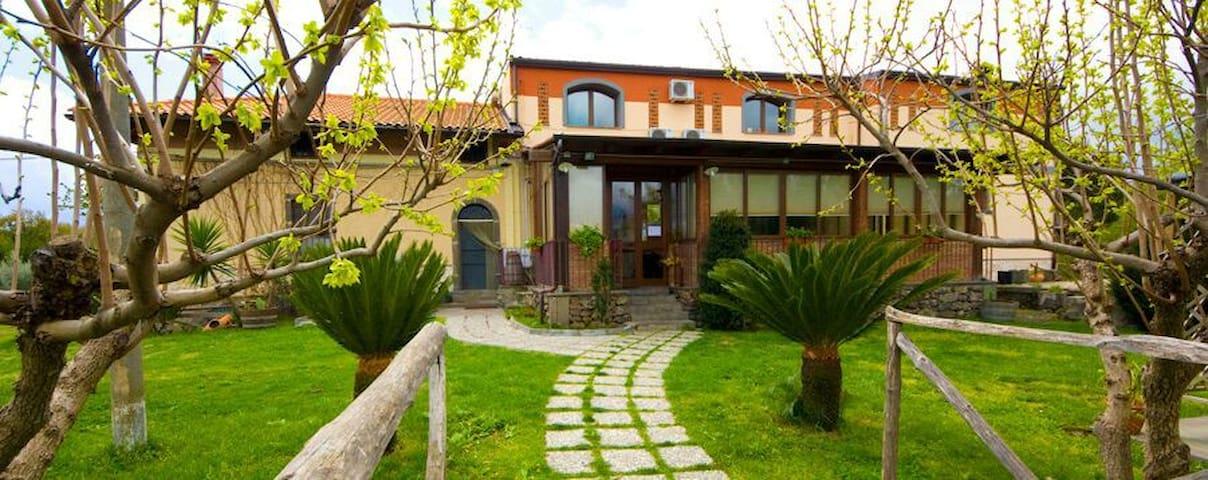 Agriturismo al vecchio torchio 3 - Castiglione di Sicilia - Bed & Breakfast
