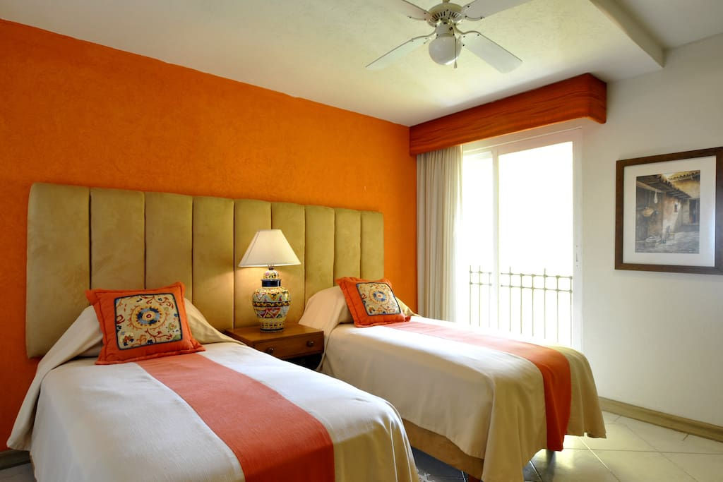 Second bedroom. Twin beds can be converted to one bed